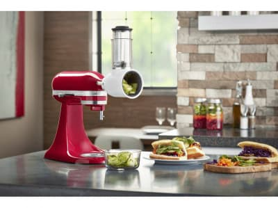 KitchenAid 5KSMVSA Groensteschaaf- en rasp