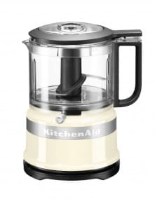 KitchenAid 5KFC3516EAC Classic Mini Foodprocessor Amandel Wit