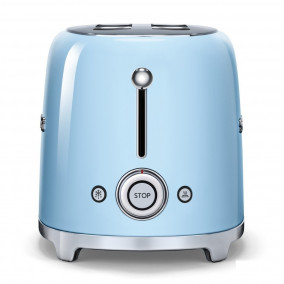Smeg TSF02PBEU Broodrooster 2x4 Pastelblauw