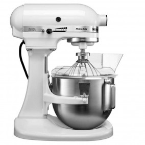 KitchenAid 5KPM5EWH 4,8ltr heavy duty mixer-keukenrobot - Wit